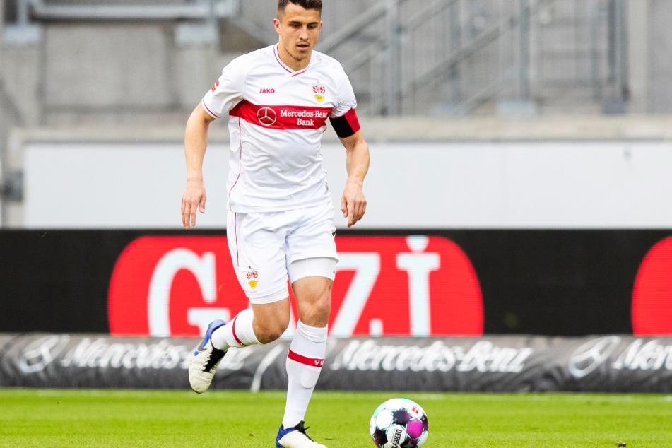 Noch im Dress des VfB Stuttgart auf dem Platz: Marc Oliver Kempf (26).