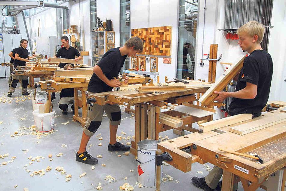 Die Hellerauer Werkstätten planen den Bau einen Firmencampus.