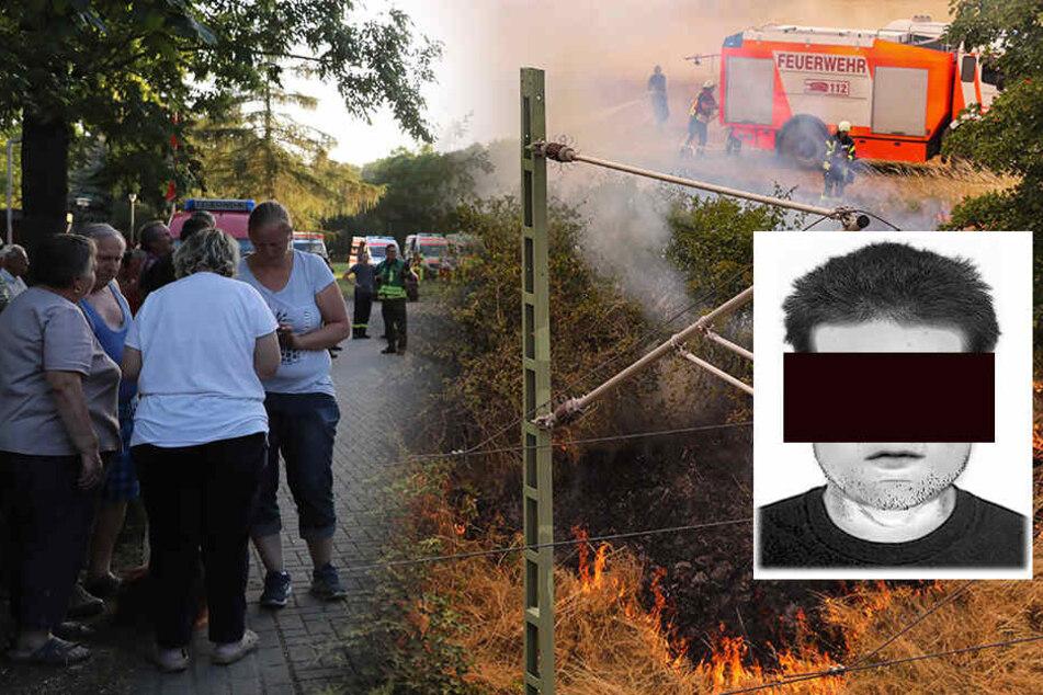 Brandstiftung! Teenager (17) gesteht, Feuer im Dorf gelegt zu haben