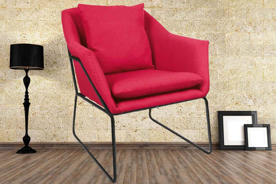 hol dir diesen designer sessel f r nur 99 statt 159 euro. Black Bedroom Furniture Sets. Home Design Ideas