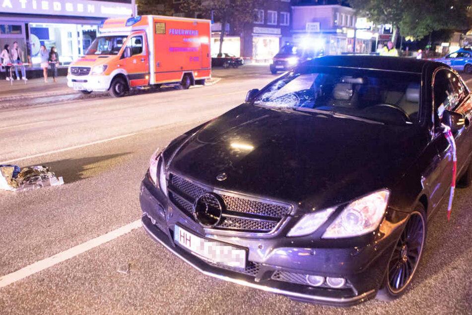 In diesem PS-starken Auto war der 23-jährige Raser unterwegs, als er einen Fußgänger in Hamburg überfuhr.