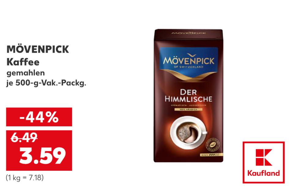 MÖVENPICK Kaffee für 3,59 Euro