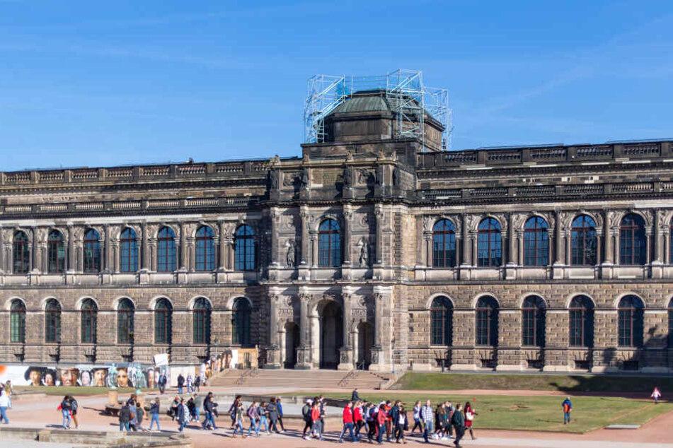 Noch können Touristen und Dresdner den wunderschönen Zwinger ohne Eintritt betreten.