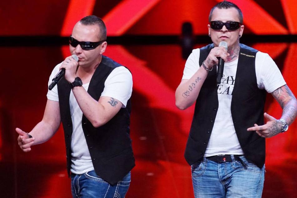 """Als Duo """"Neuzeitkinder"""" traten Rico Laue (r.) und sein damaliger Kumpel Sebastian Wendler 2016 beim RTL-Supertalent auf."""