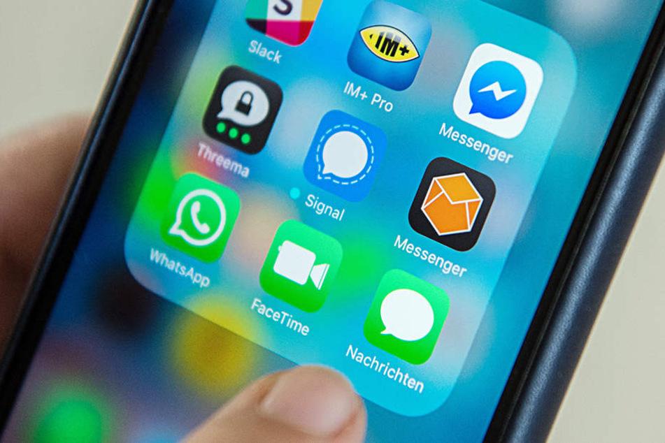 Der Staatstrojaner soll auf sämtliche Messenger, die auf unserem Handy installiert sind, zugreifen können.