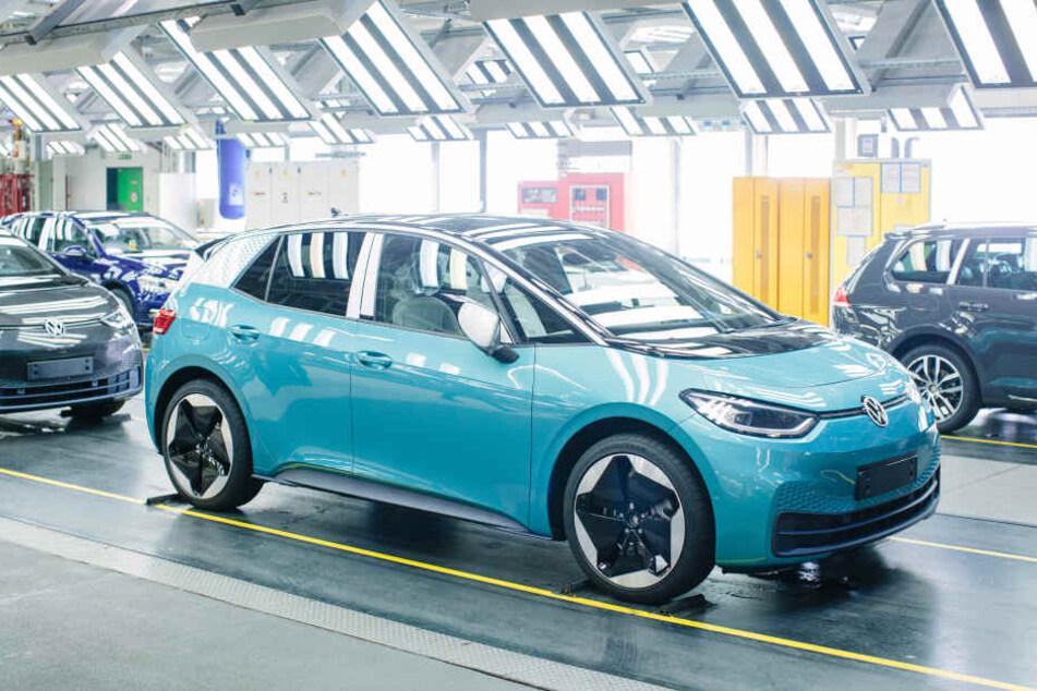 Der neue Elektro-VW. Der Wagen ist das erste Modell der ID-Familie, die VW in die Zukunft führen soll.