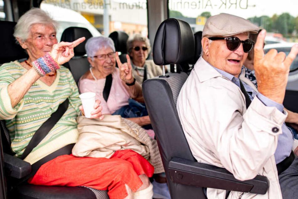 Mit 95 Jahren zu alt fürs Wacken-Festival? Niemals!