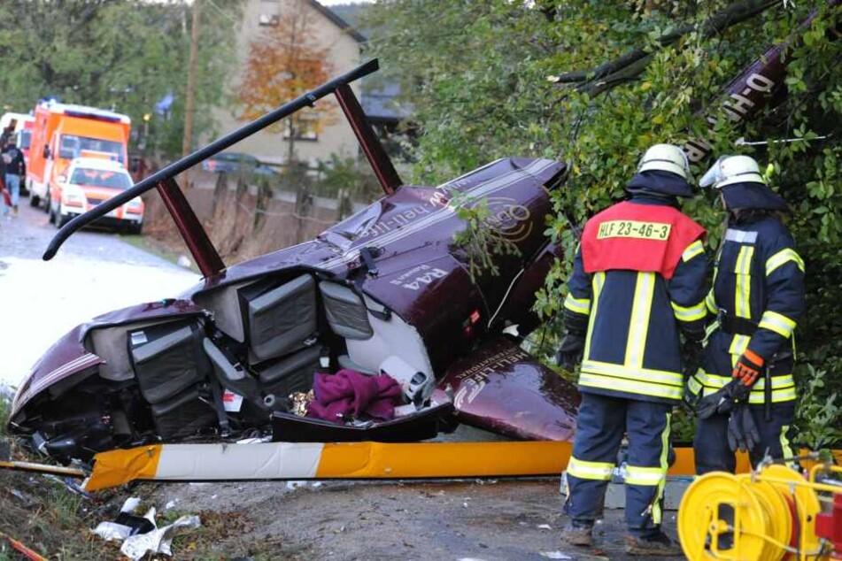 Dieser Hubschrauber-Absturz hätte Anna-Maria fast das Leben gekostet.