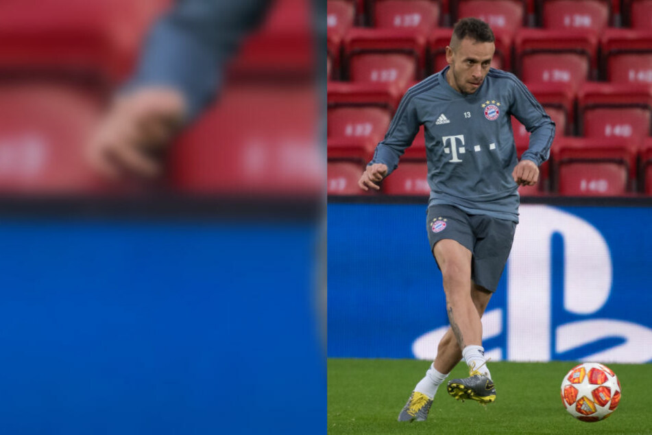 Rafinha hatte nach dem Spiel gegen Berlin seinen Frust rausgelassen.