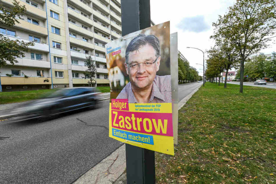 Holger Zastrow (50, FDP) hängt noch immer an der Budapester Straße.