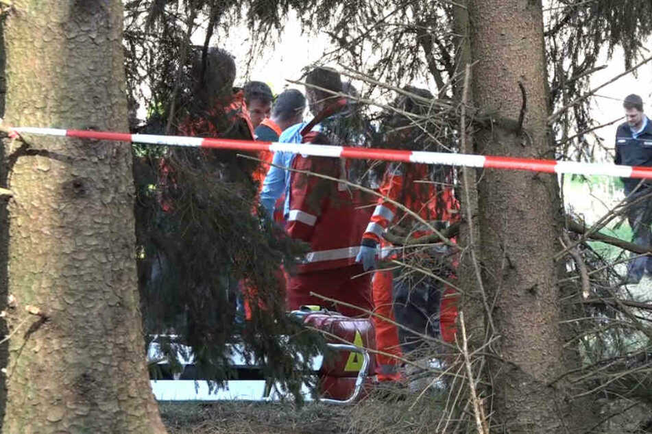 Beide Insassen wurden bei der Tragödie schwer verletzt.