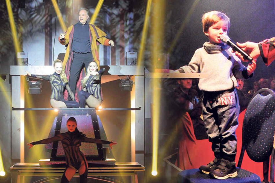 Sarrasani-Sohn (2) verblüfft Zuschauer bei seinem ersten Auftritt