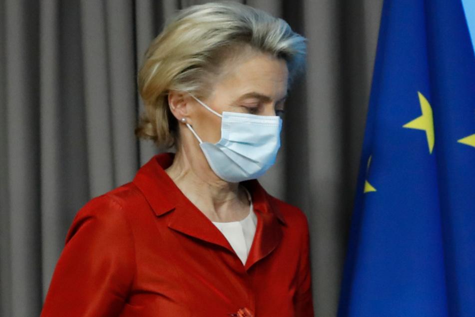 EU-Kommissionspräsidentin Ursula von der Leyen (62).