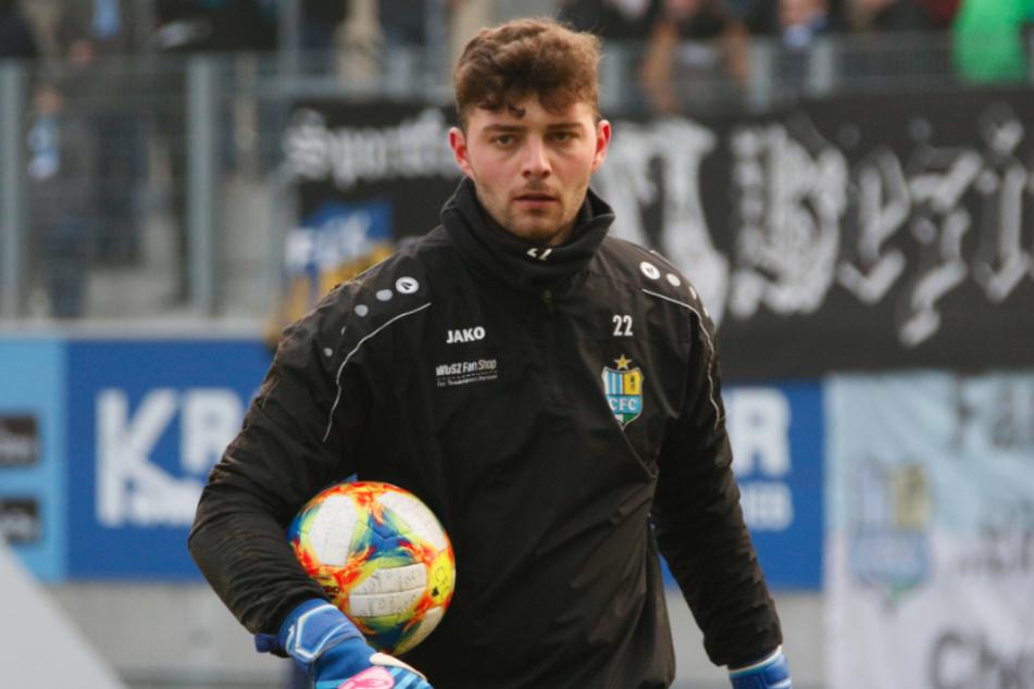 Verlässt den Chemnitzer FC: Keeper Joshua Mroß (23).