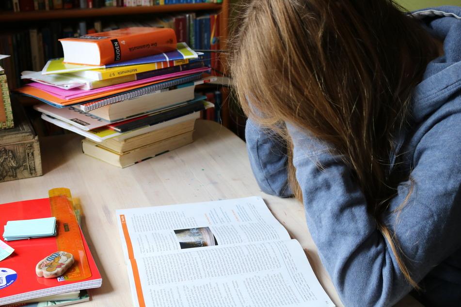 In den vergangenen Wochen mussten Schüler zu Hause lernen (Archivbild).