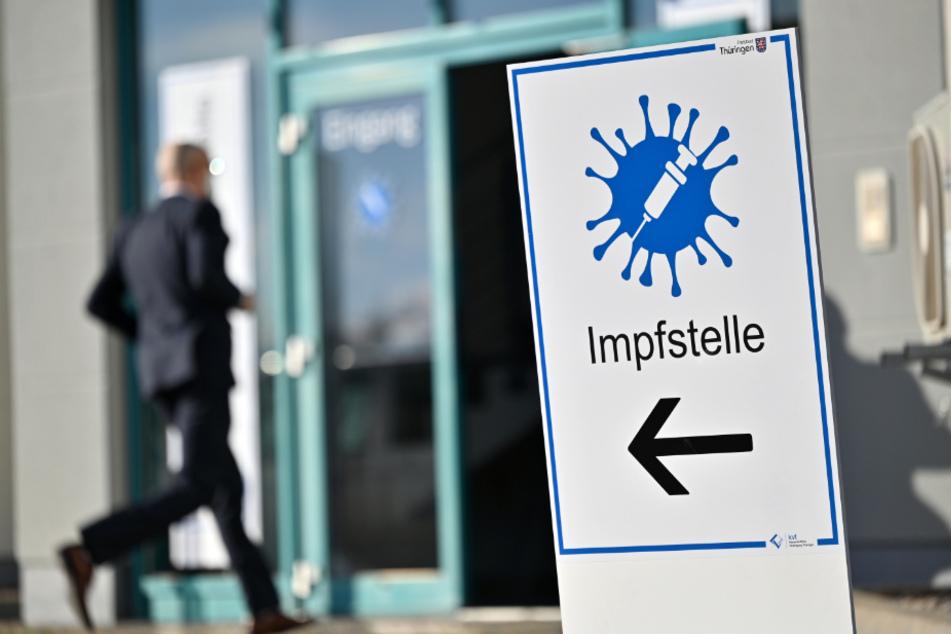 14 Impfstellen gehen am heutigen Mittwoch in Thüringen in Betrieb.