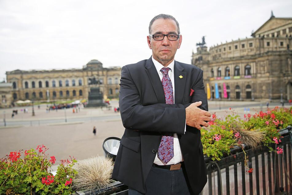 Johannes Lohmeyer (56) fordert mehr Hilfe für Dresdens Touristiker.