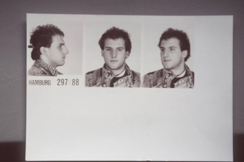 Polizeifoto von Thomas Holst.