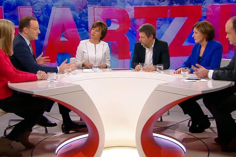 """""""Billige Arbeit, Abstiegsangst – wer stoppt die Spaltung des Landes?"""" war das Thema der Sendung."""
