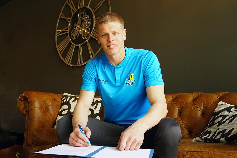 CFC-Torhüter Jakub Jakubov hat seinen Vertrag beim Chemnitzer FC verlängert.