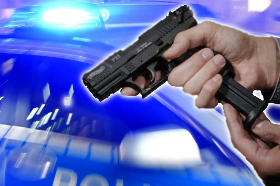 Mann feuert mit scharfer Schusswaffe in Paunsdorf um sich