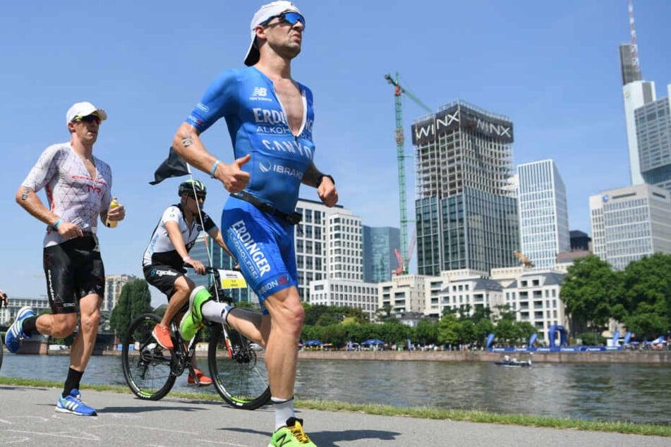 Auch Patrick Lange (re.) wird beim Frankfurter Ironman wieder am Start sein (Archivbild).