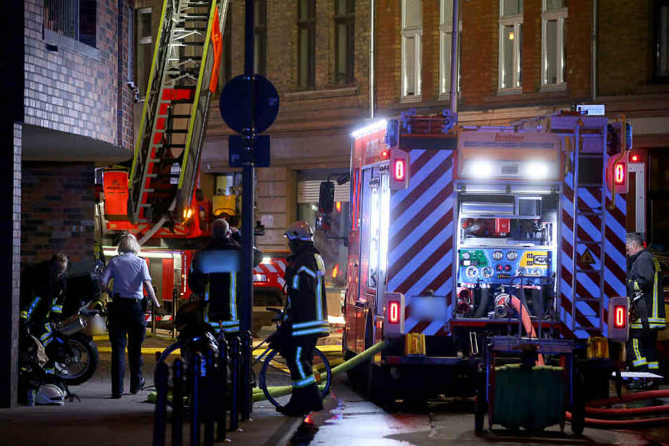 Der Mann wurde durch den Brand schwer verletzt (Symbolfoto).
