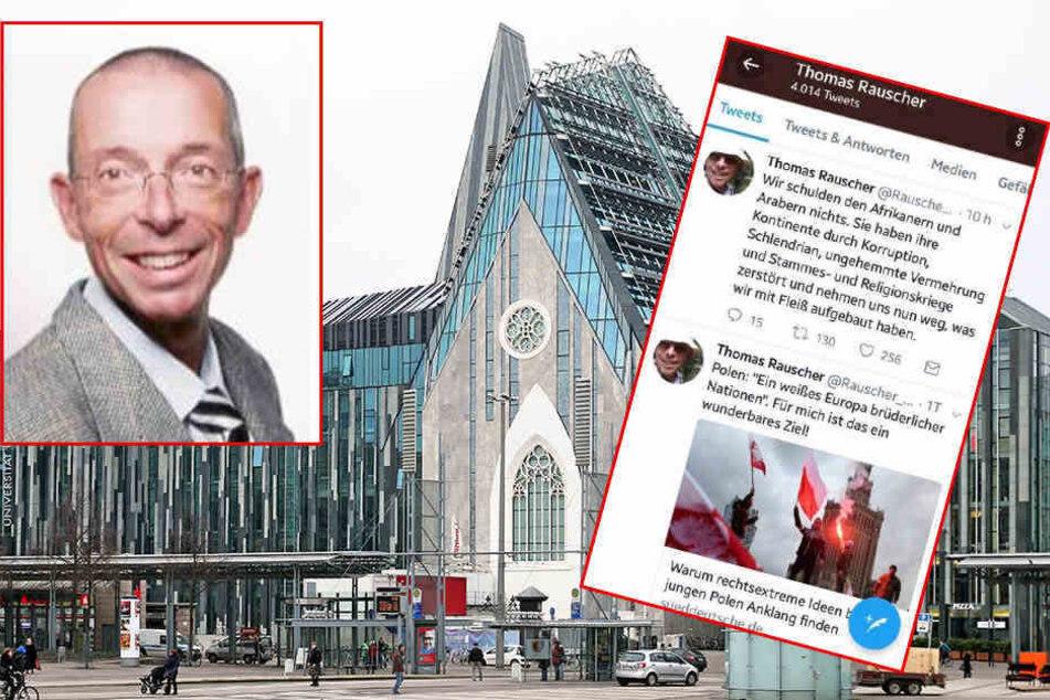 Jura-Professor Thomas Rauscher (62) will anscheinend vor Gericht seinen Posten einklagen.