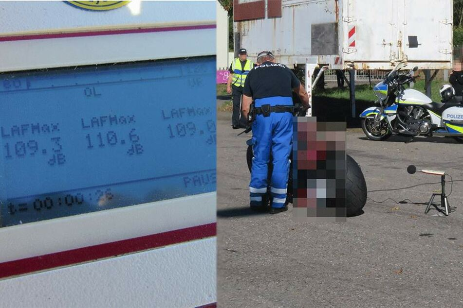 Polizei zieht Krachmacher und Raser aus dem Verkehr