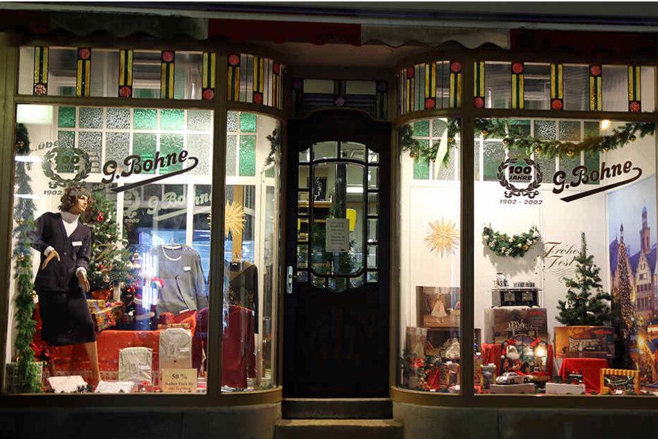 Seit 40 Jahren führt er das Geschäft, das von seinem Opa Gotthilf Bohne 1902 gegründet wurde.