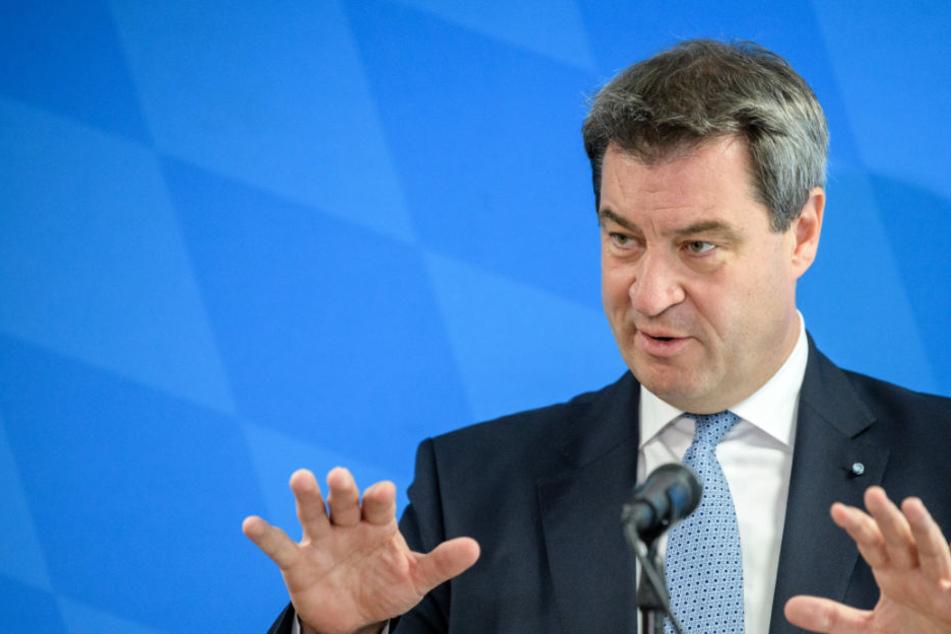 Markus Söder (CSU) wollte mit dem Familiengeld vor allem bei schlecht gestellten Wählern punkten.