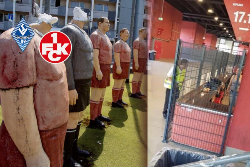 """Kaiserslautern gegen Waldhof Mannheim: Kommt es zum großen Knall? """"Wir sind ja nicht im Krieg!"""""""