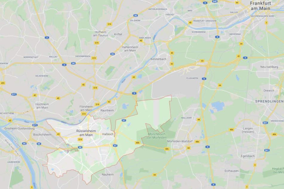 Der Vorfall ereignete sich in Rüsselsheim.
