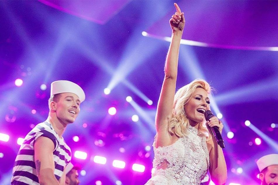 Die Blondine tritt Samstag und Sonntag nicht in der Mercedes-Benz-Arena in Berlin auf.