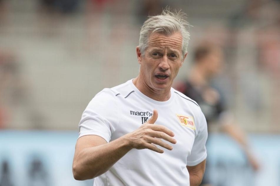 Will die kommende Saison besser abschließen, als die vergangene: Union-Trainer Jens Keller.