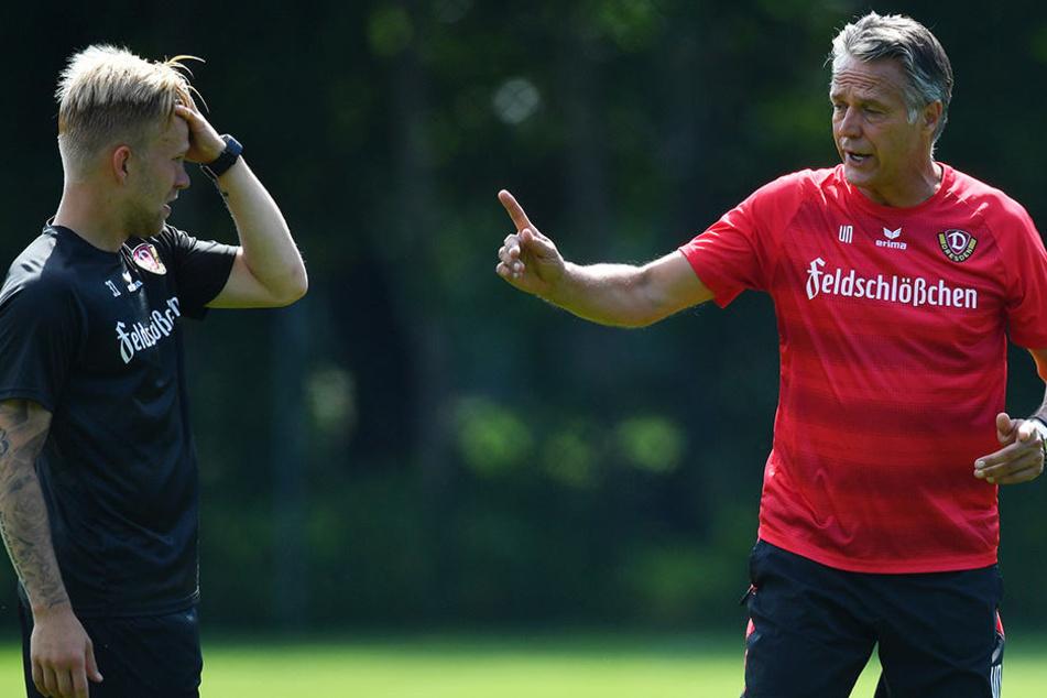 Künftig erhält Marcel Hilßner (22) seine Anweisungen nicht mehr von Uwe Neuhaus sondern von Pavel Dotchev, dem Trainer von Hansa Rostock