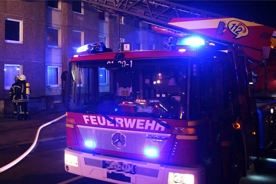 Ein Großaufgebot der Feuerwehr war im Einsatz (Symbolbild).