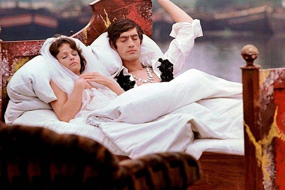 """Traumszene aus dem Kultfilm """"Die Legende von Paul und Paula"""". Gotthardt schrieb die Musik dafür."""