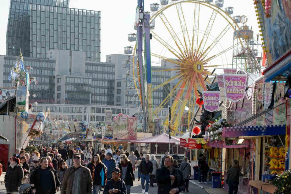 Der Hamburger Frühlingsdom endet am Sonntag