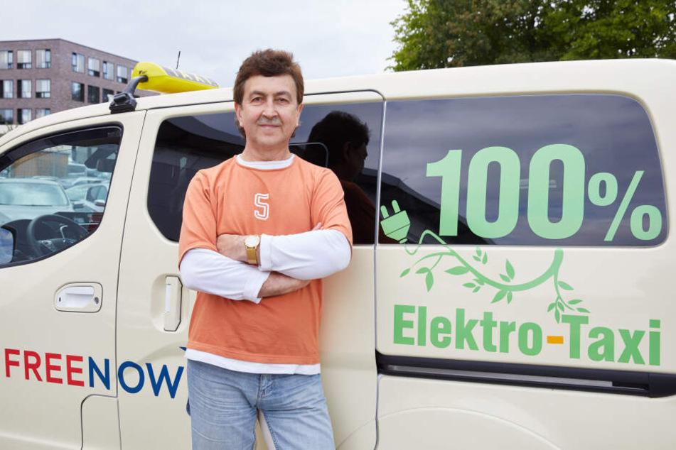 Deshalb gibt es nur ein einziges elektrisches Taxi in Hamburg