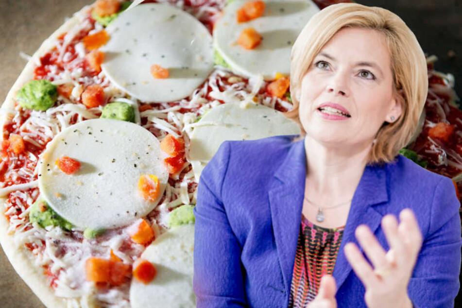 Ernährungsministerin Julia Klöckner (CDU, 45) will ihre Landsleute gesünder machen. (Bildmontage)