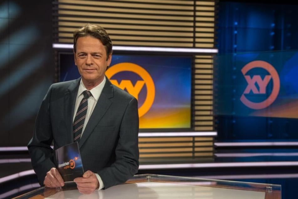 """Rudi Cerne sucht in seiner ZDF-Sendung """"Aktenzeichen XY... ungelöst"""" nach der 18-jährigen Mandy."""