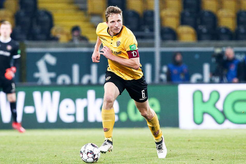 Leitwolf Marco Hartmann fällt mit einer Quetschung der Muskulatur im linken Unterschenkel erst einmal aus.