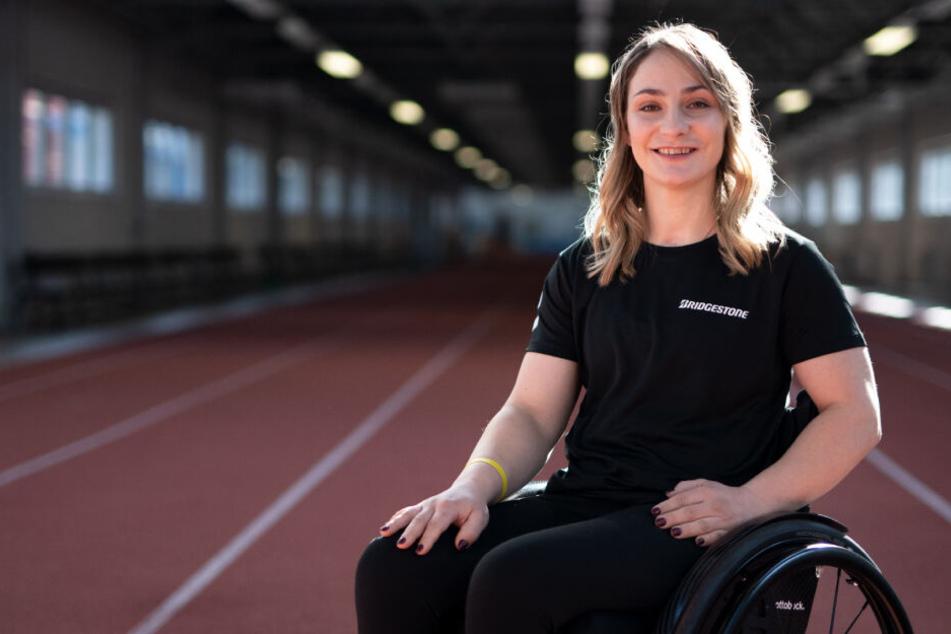 Kristina Vogel sitzt seit ihrem schweren Trainingsunfall im Juni 2018 im Rollstuhl.