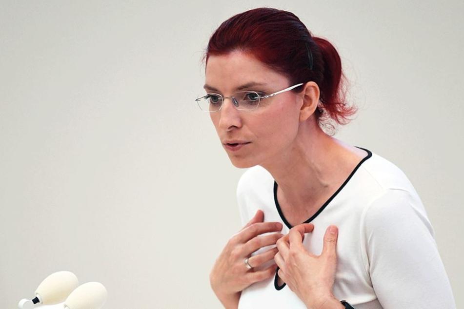 Brandenburgs Sozialministerin Diana Bolze (Linke).