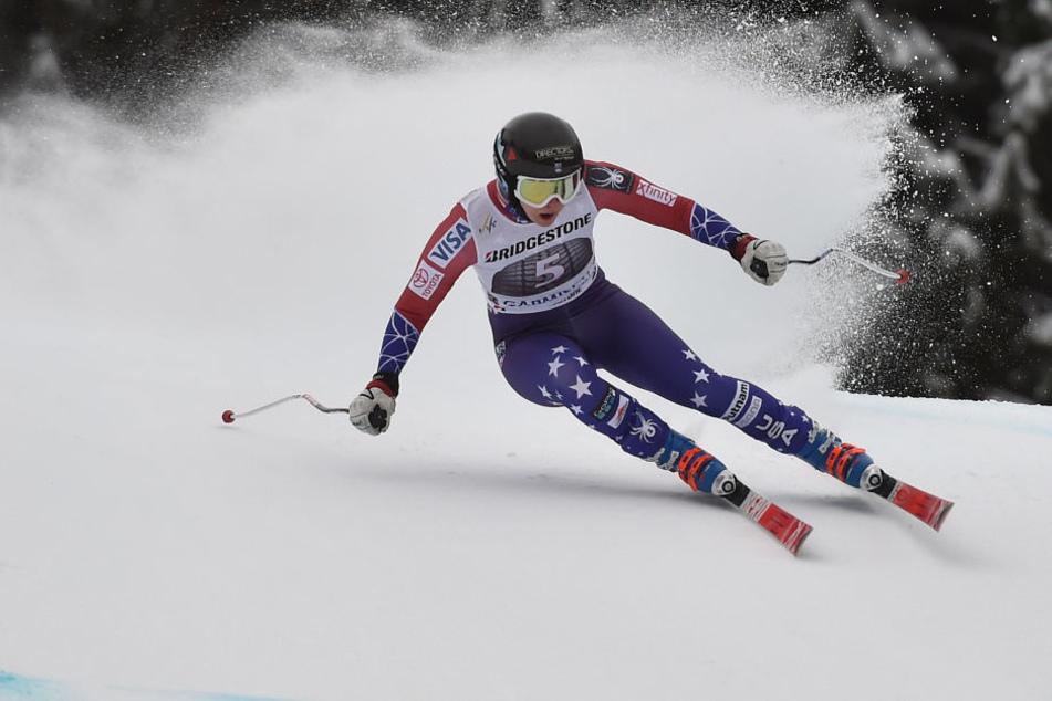 Jacqueline Wiles stürzte bei der Weltcup-Abfahrt schwer.