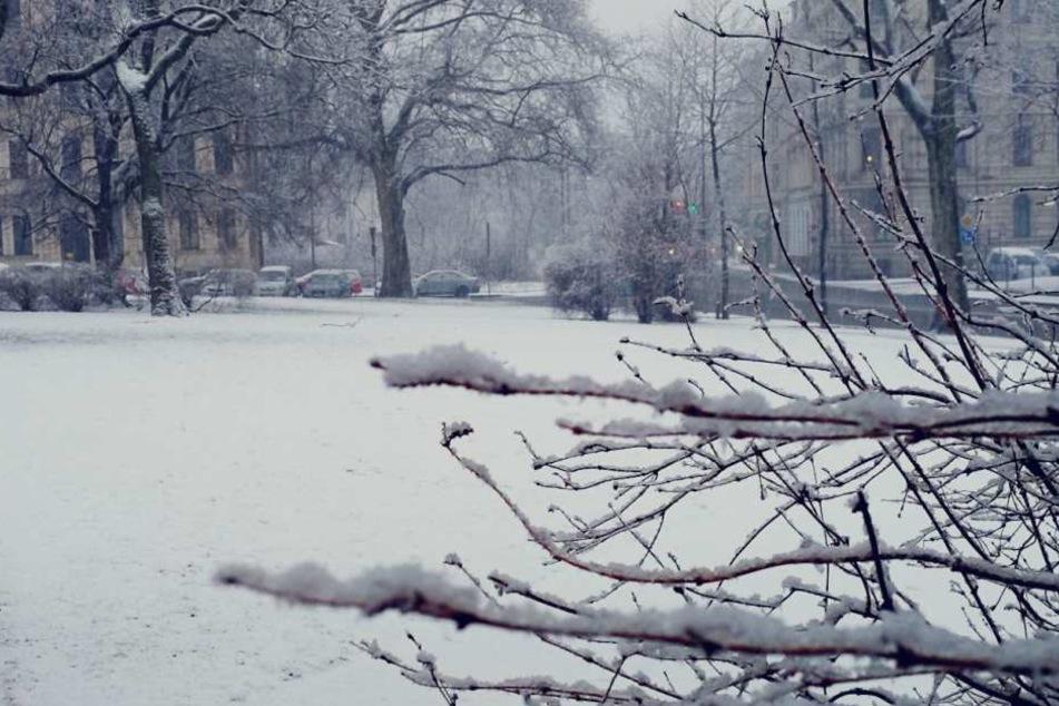 Bis zum Mittwochmorgen wird es noch weiter schneien.