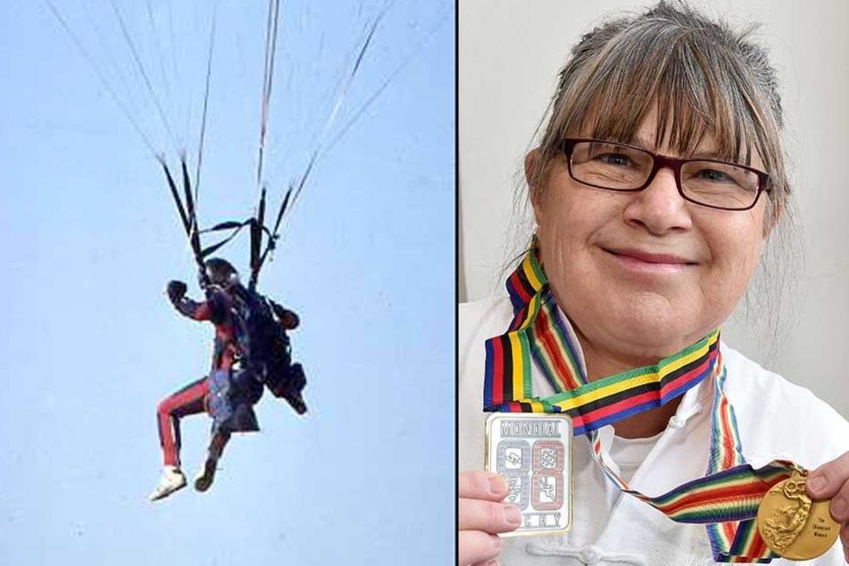 Cornelia Fischer gewann als kühne Springerin bei Weltmeisterschaften und Weltcups viel Edelmetall.