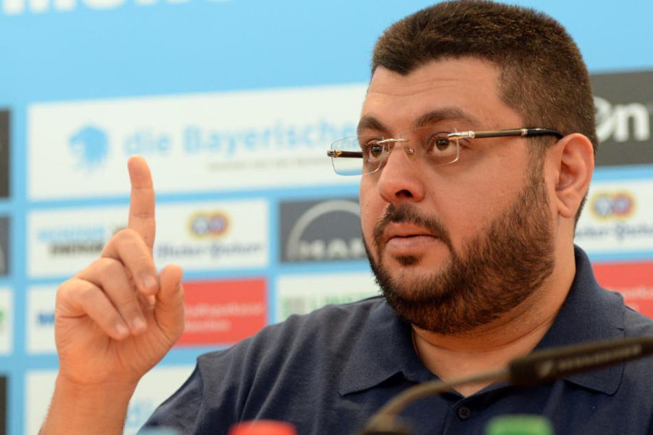 Investor Hasan Ismaik hat dem TSV 1860 eine große Summe überwiesen. (Archivbild)