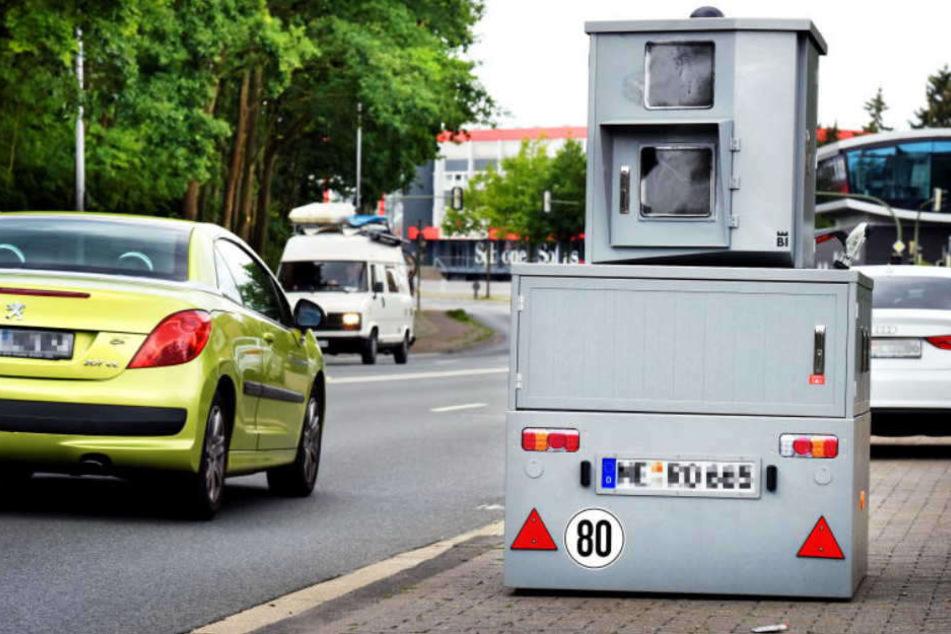 Bielefelds Testblitzer hat schon 700 Mal ausgelöst